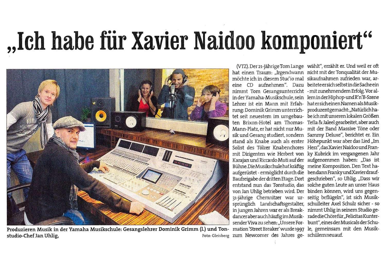 Jan Uhlig - LuBeatz - Noxwell - Ich habe für Xavier Naidoo komponiert