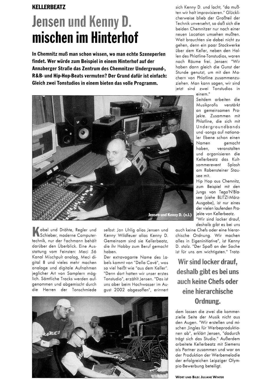 Jan Uhlig - LuBeatz - Noxwell - Kellerbeatz - Jensen und Kenny D. mischen im Hinterhof